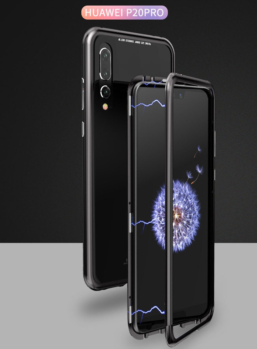 Magnetic Adsorption Case For Huawei P20/P20Pro - oblevs