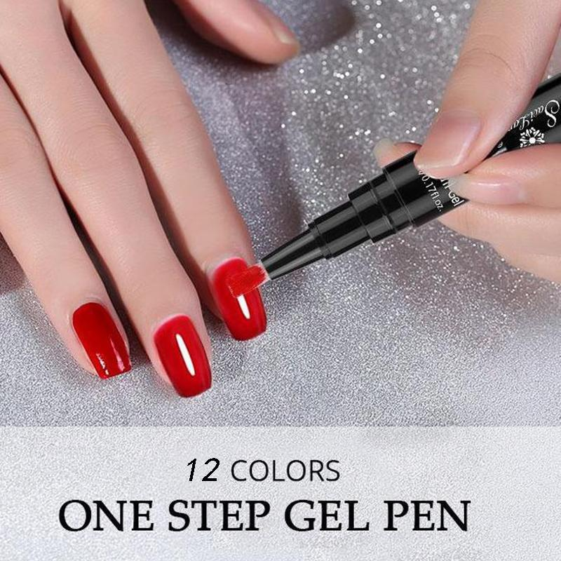 3 In 1 One Step Gel Polish Pen - oblevs