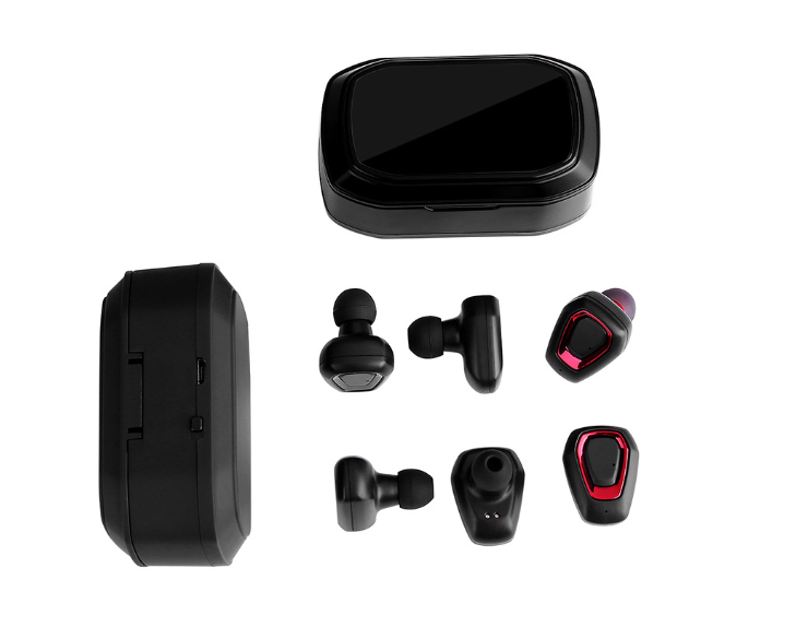 New waterproof wireless sports headphones with microphone - oblevs
