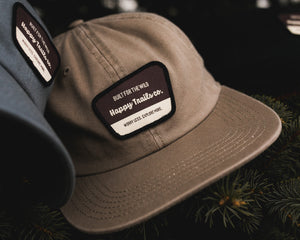 National Park flat bill hat