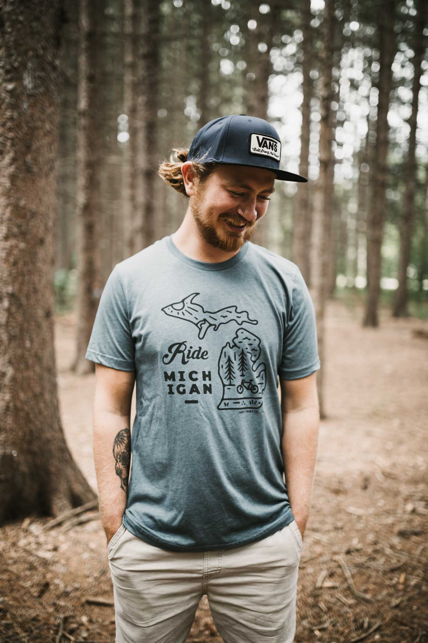 Ride Michigan unisex tee