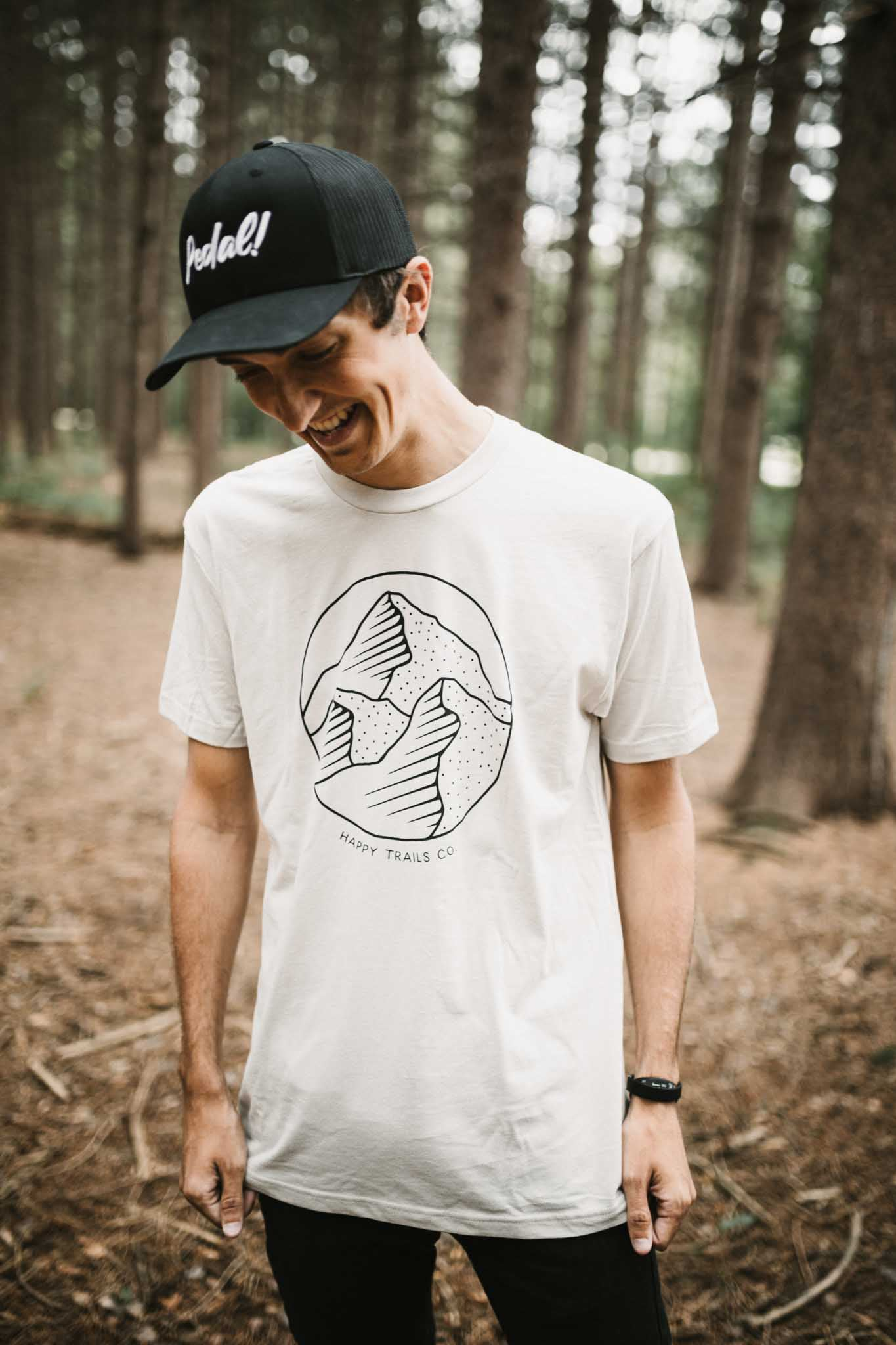 Mountain logo unisex tee