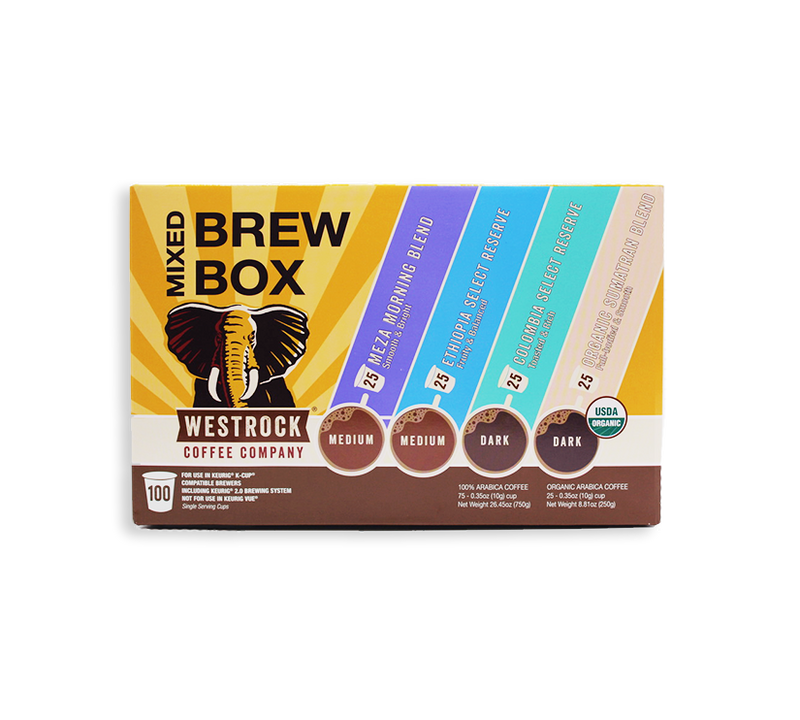 Mixed Brew Box Single Serve 100 Count