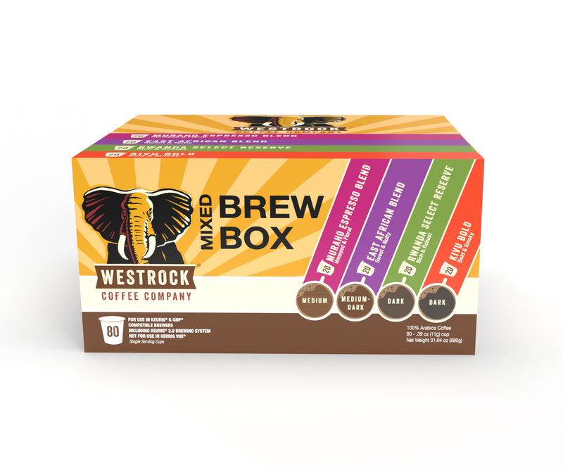 Mixed Brew Box Single Serve 80 Count