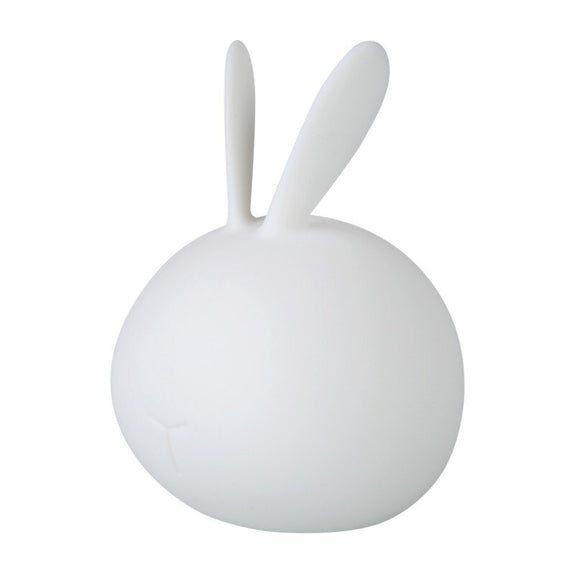 Cute Rabbit Soft Silicone Lamp USB Charge LED 7 Color Touch to Change Color Festival Decorative Sleep Night Light Children Gift