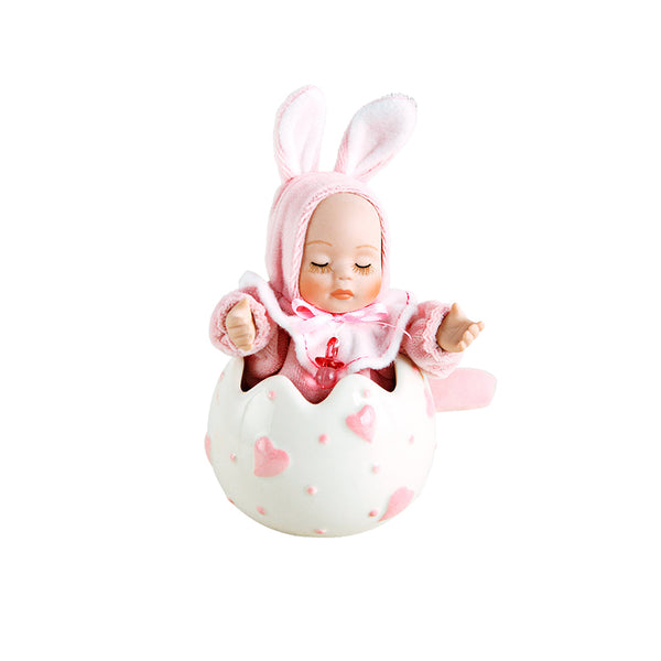 Bobble Head Baby Doll Music Box - Idea Gift