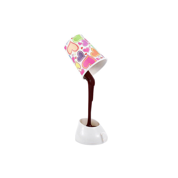 Coffee Cup DIY Crative Night Lamp - Idea Gift