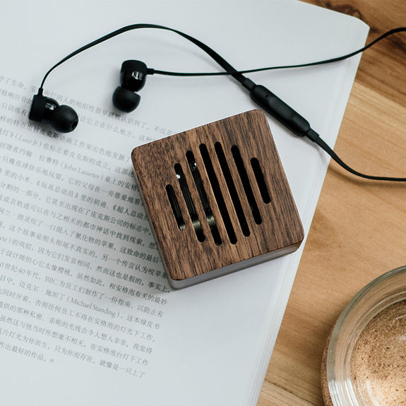 Solid Wood Closed Music box - Idea Gift