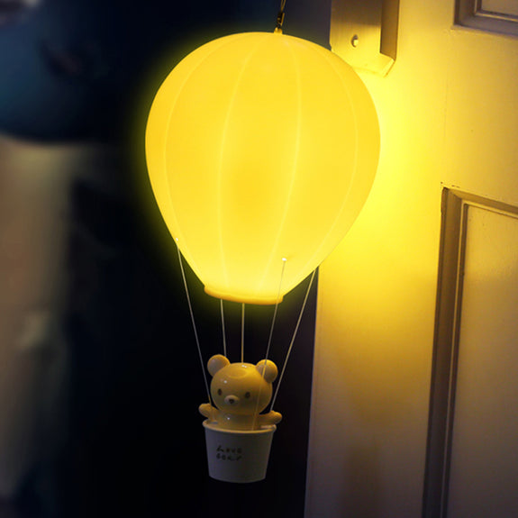 Hot Air Ballon Touch Lamp (Rechargeable) - Idea Gift