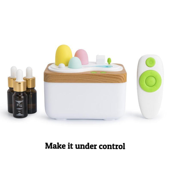 Remote Control Light Humidifier (USB Charged)