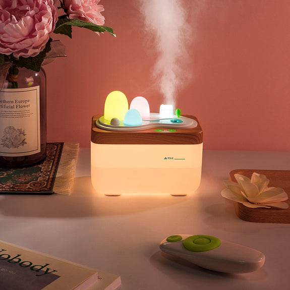 Remote Control Light Humidifier (USB Charged) - Idea Gift