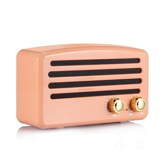 T5 retro Nostalgic Mini Mobile Phone Audio Radio Bluetooth Speaker Petty bourgeoisie Rural American speaker Country style sound - Idea Gift