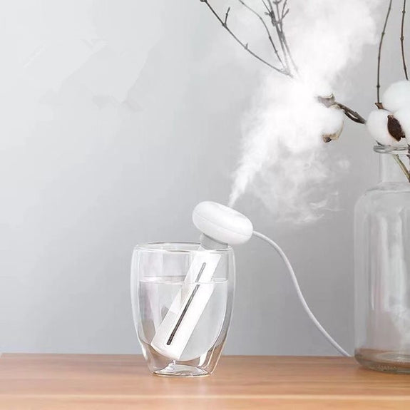 White Donut  Portable USB Humidifier - Idea Gift