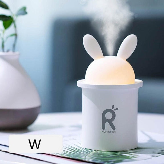 Cute Rabbit USB Air Humidifier  - Idea Gift