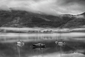 Morning Mist on Loch Linnhe