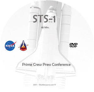 STS-1 Video Collection - 6 DVD's - 7 Hours+