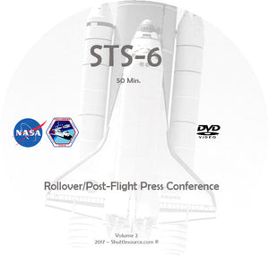 STS-2 Through STS-6 Video Collection  - 9 DVD's - 8 Hours+