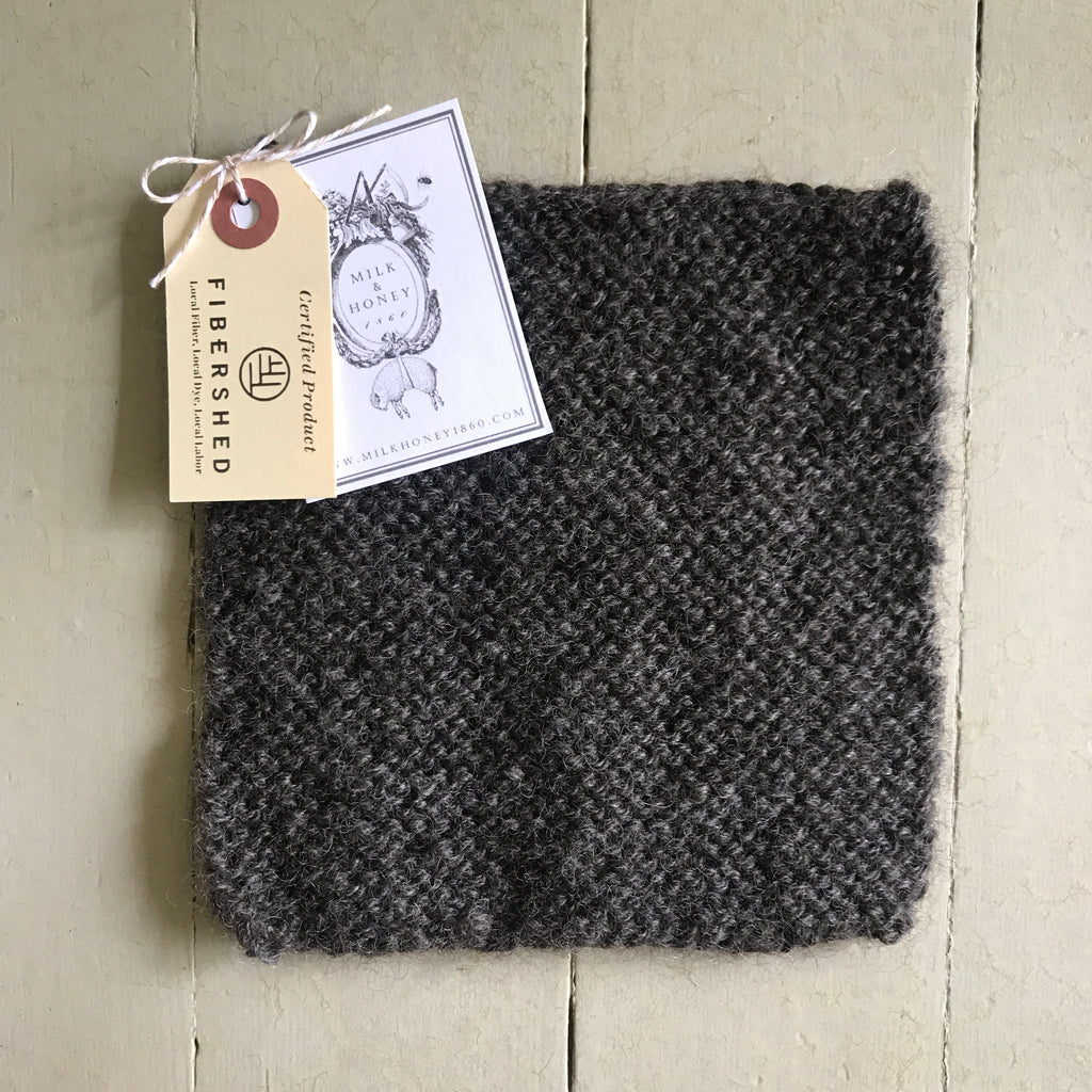 LEICESTER LONGWOOL WASHCLOTH/DISHCLOTH