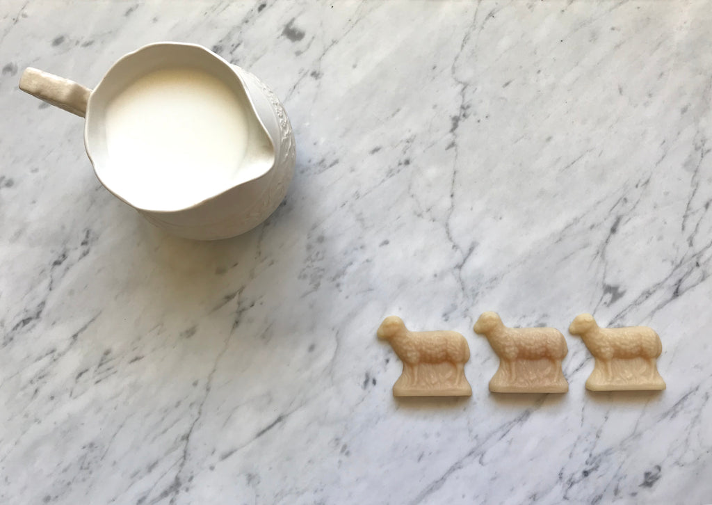 THREE LITTLE SHEEP SOAPS