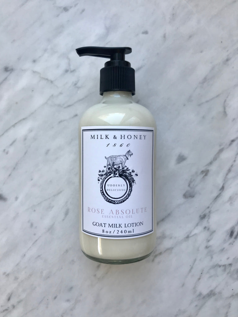 GOAT MILK LOTION | ESSENTIAL OIL