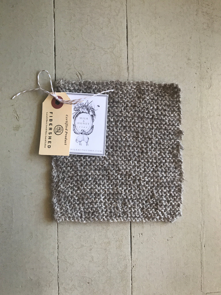 WOOL WASHCLOTH/DISHCLOTH
