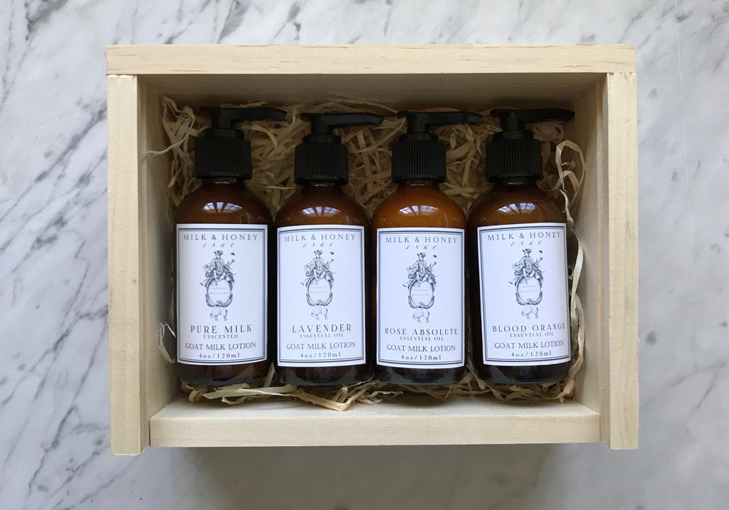 MEN'S MINI LOTION GIFT CRATE