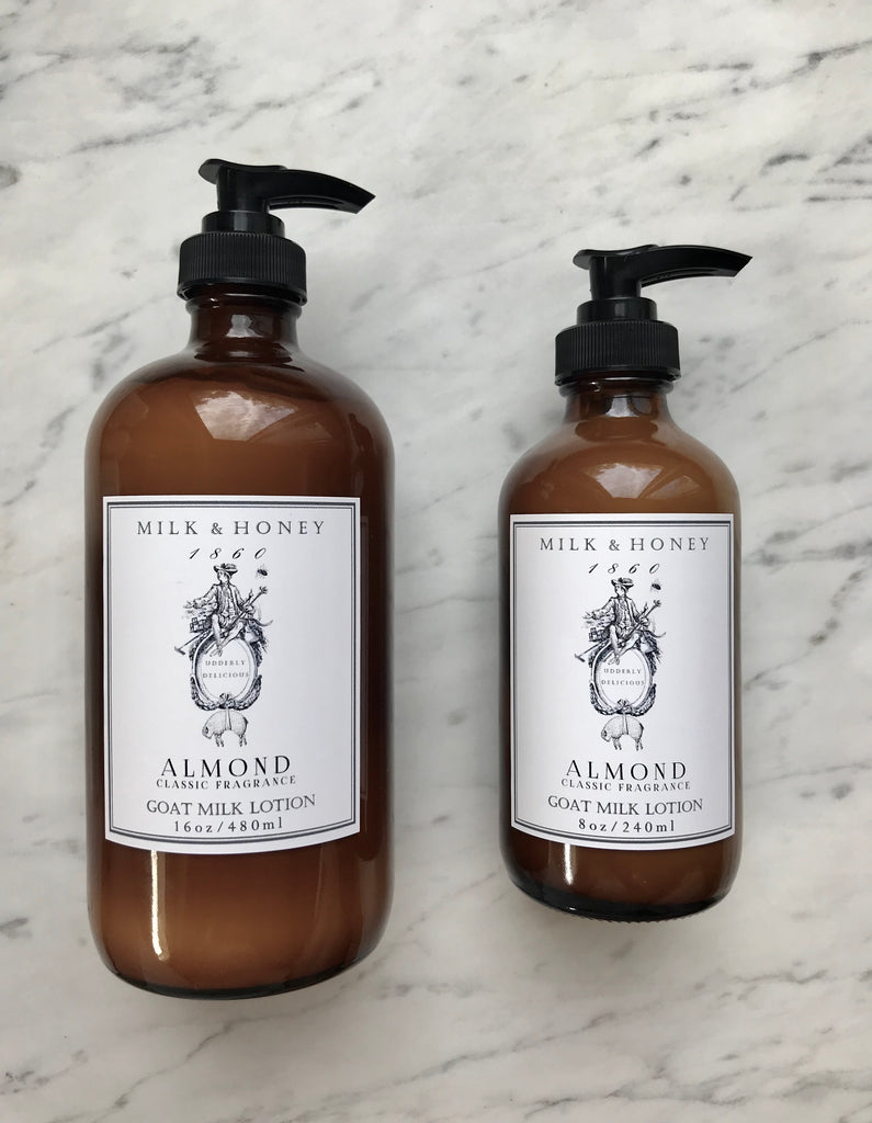 MEN'S GOAT MILK LOTION | CLASSIC FRAGRANCE