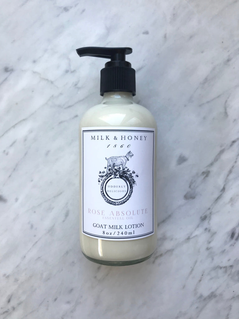 GOAT MILK LOTION | ROSE ABSOLUTE