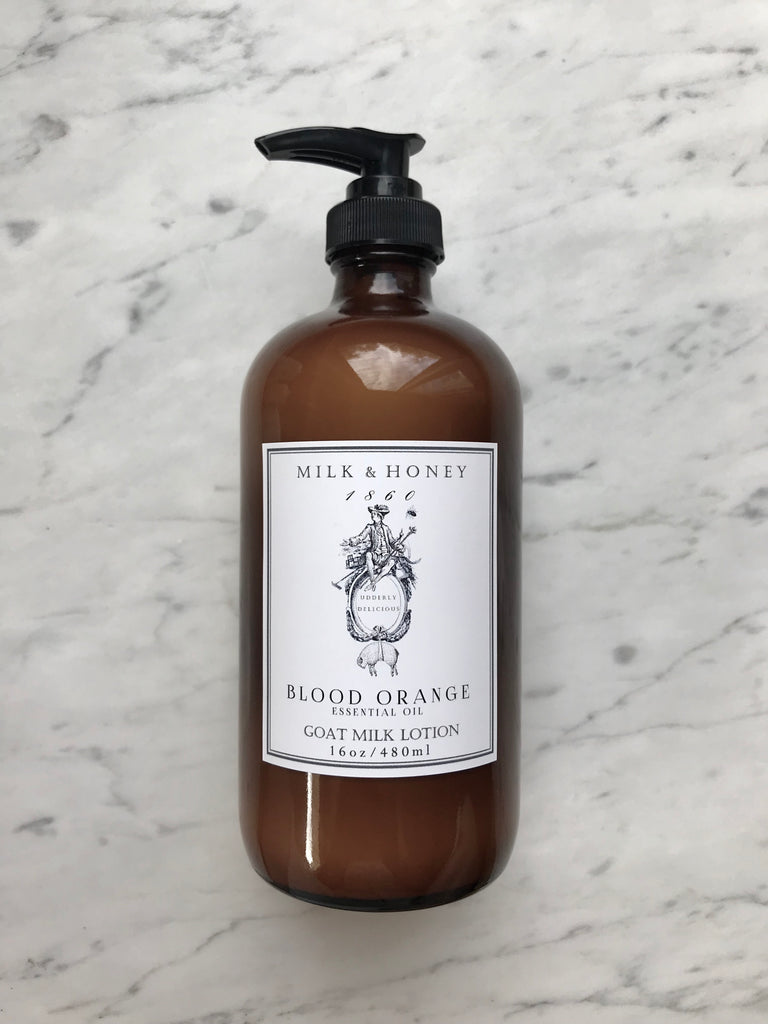 MEN'S GOAT MILK LOTION | ESSENTIAL OIL