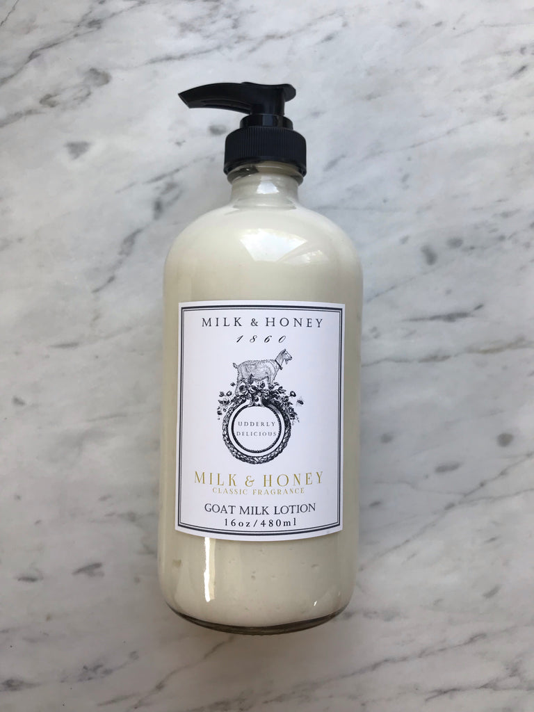GOAT MILK LOTION | CLASSIC FRAGRANCE
