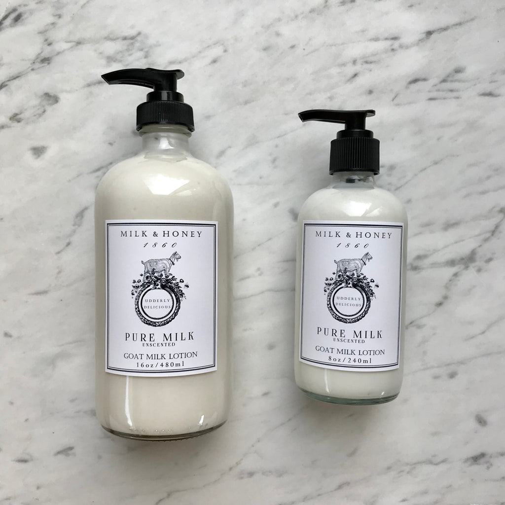 GOAT MILK LOTION | PURE MILK