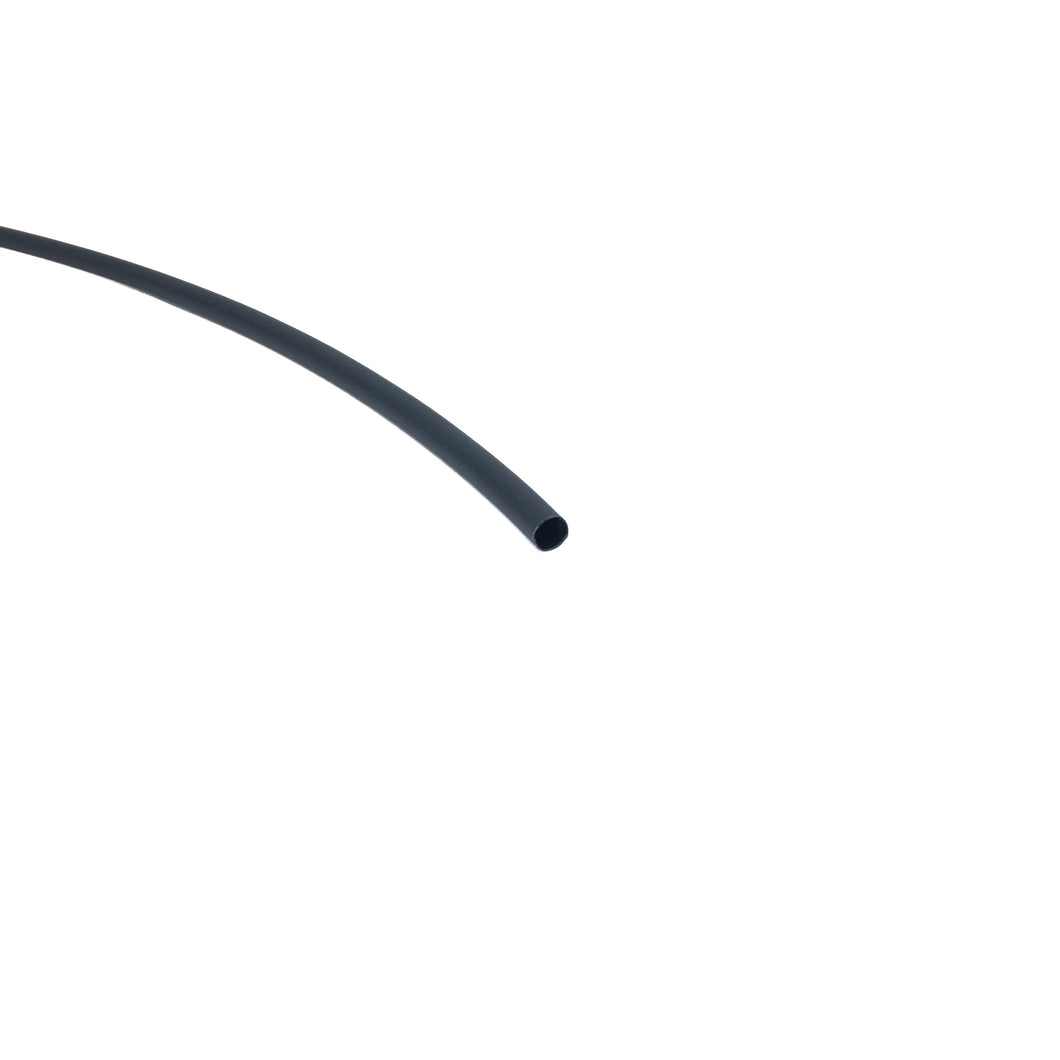 Premium Polyolefin Heatshrink Tube - 1/4in (6.35mm) Internal Diameter - 3:1 ratio - Black