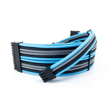 Load image into Gallery viewer, 8pin (6+2) PCI-E Power Cable Extension - PET Sleeve - 16AWG