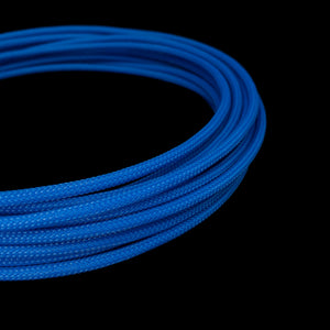 PET Cable Braided Sleeve - Navy Blue - 5/32in (4mm)