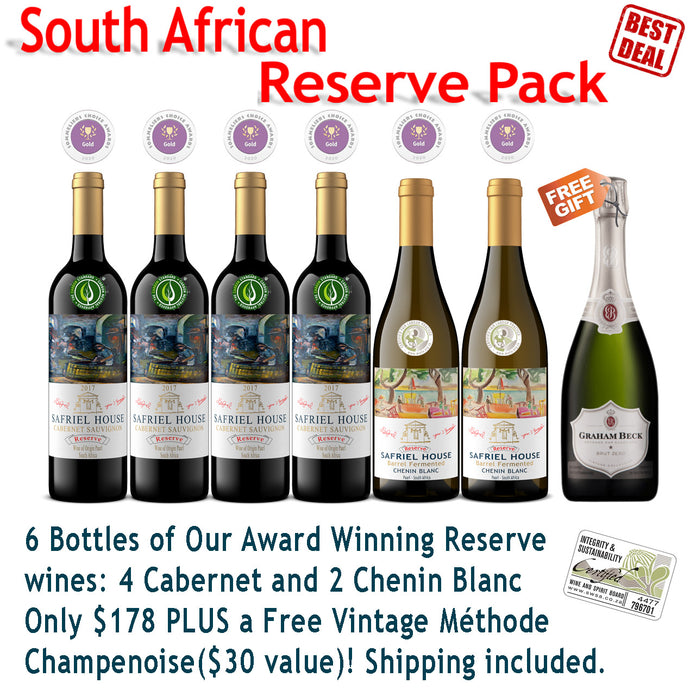 South African Reserve Pack Special (Free Gift)