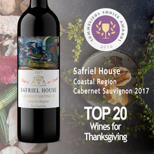 Load image into Gallery viewer, Safriel House Coastal Cabernet Sauvignon