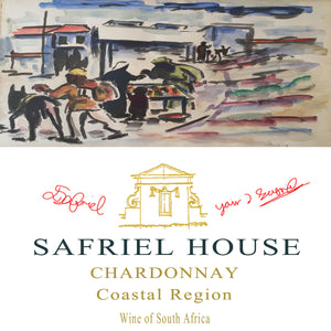 Safriel House Chardonnay Label
