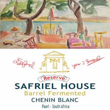 Load image into Gallery viewer, Safriel House Barrel Fermented Reserve Chenin Blanc