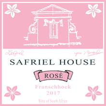 Load image into Gallery viewer, Safriel House Grenache Rose Label