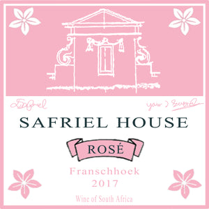 Safriel House Grenache Rose Label