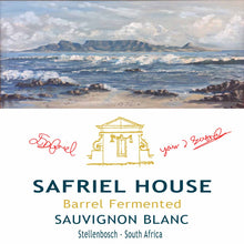 Load image into Gallery viewer, Safriel House Barrel Fermented Sauvignon Blanc