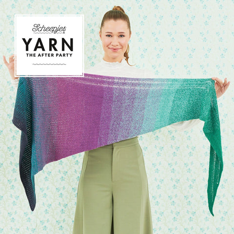 YARN 'The After Party - Exclamation Shawl