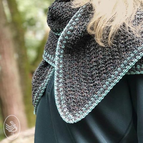 Haakpakket: Into the woods shawl