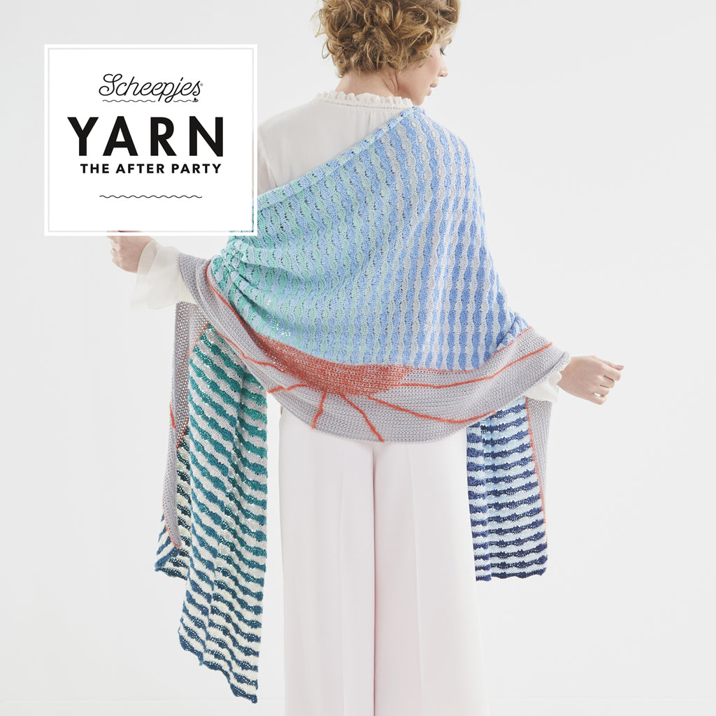 YARN 'The After Party - Alto Mare Wrap - Haken en haakpatronen