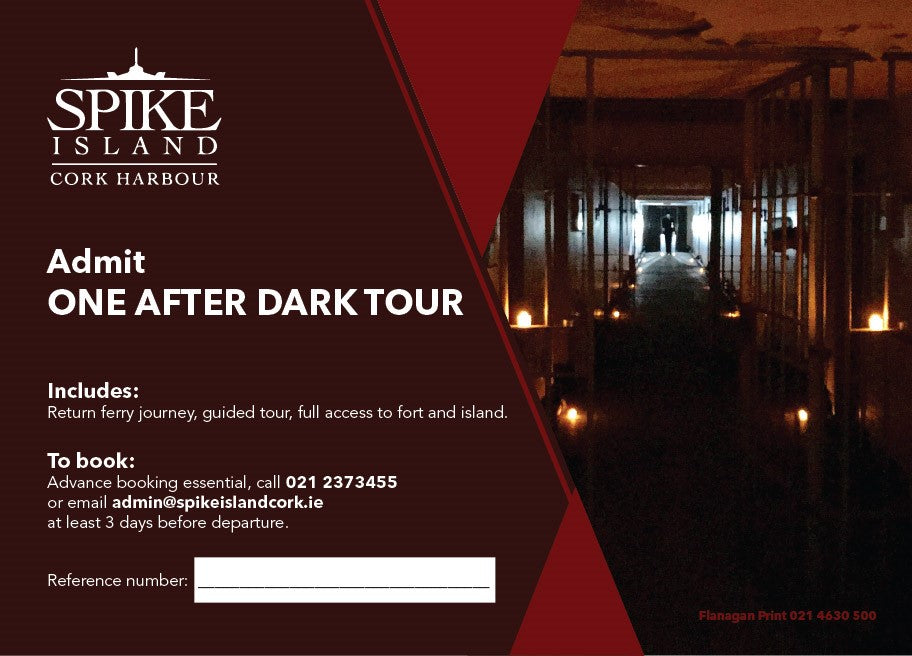1 After Dark  Single person gift voucher