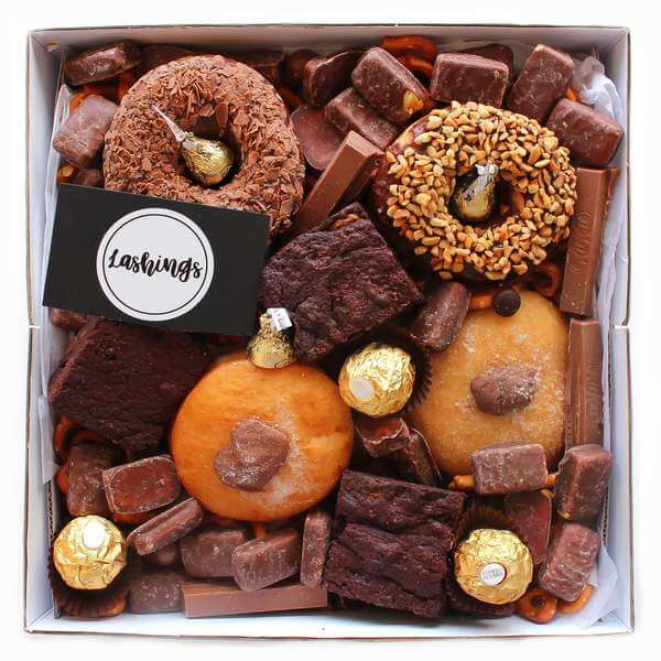 Glazed Sweet donut gift box delivery
