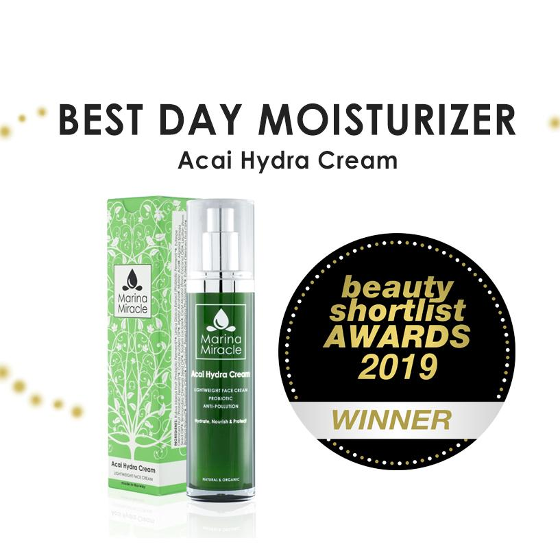 Best Day Moisturizer Acai Hydra Cream Marina Miracle