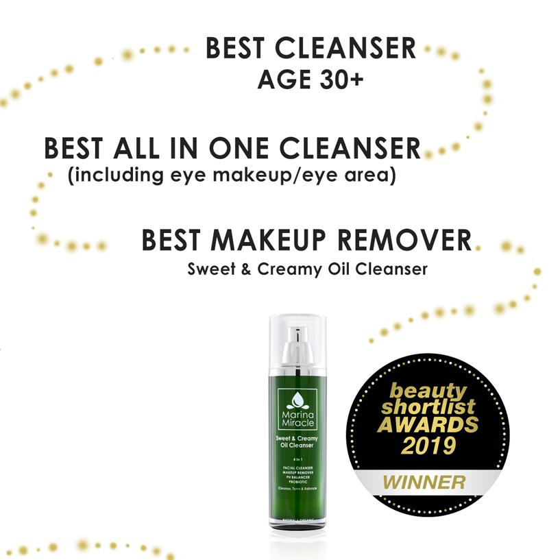 Best Makeup Remover, Best All In One Cleanser & BestCleanser 30+ Marina Miracle