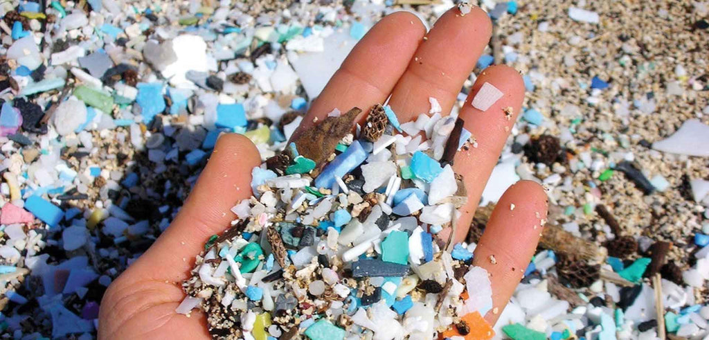 Microplastic in cosmetics