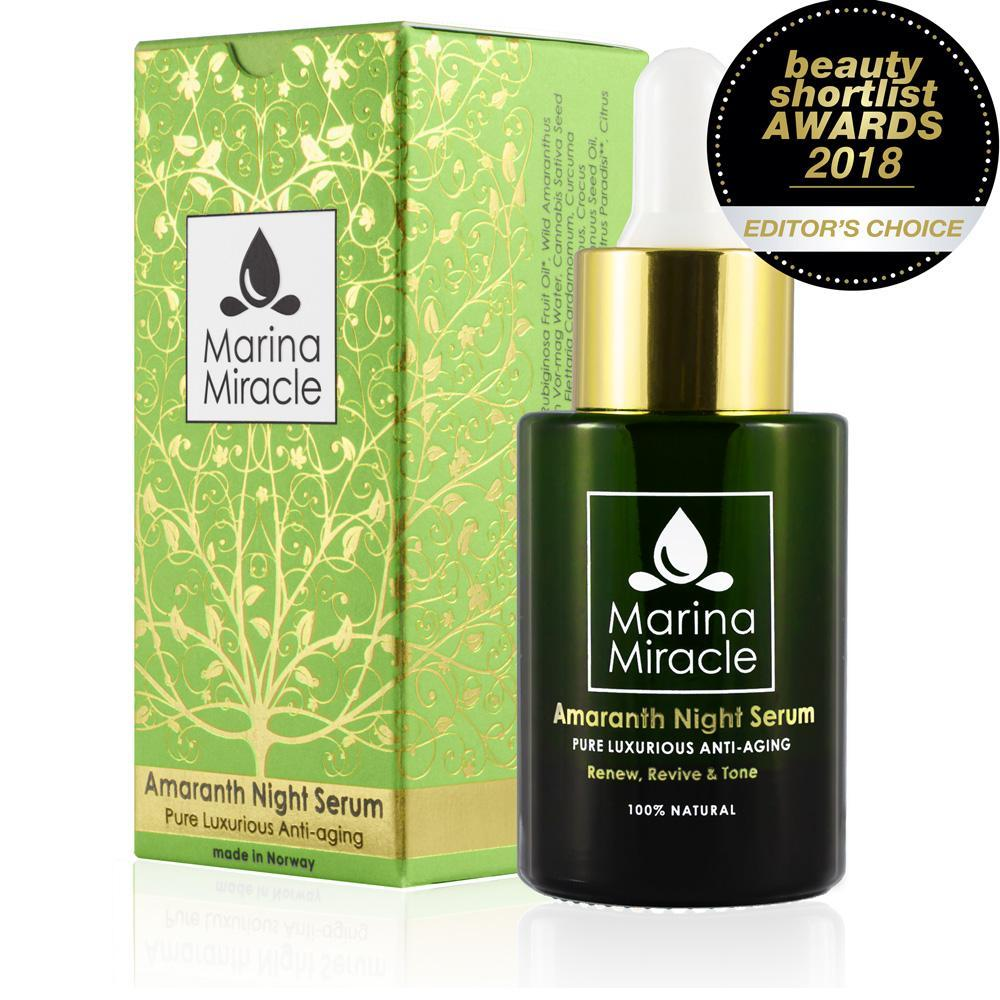 The Beauty Shortlist 2018 Editors Choice - Amaranth Night Serum